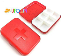 Wholesale New cross check Pill Cases clean up box storage box