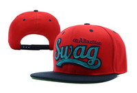 Wholesale 2013 New Style Swag Snapbacks Caps New Vintage Swag Flat Bill Snapback Cap Hat Many Colors