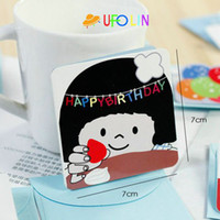 Copier Paper cartoon cards - New cartoon gift card greeting card with envelope