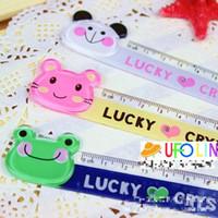 Ruler animal ruler - Korea Creative Gift Animal Bookmarker Ruler Kids Teenagers gift book mark