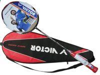 Unisex victor racquet - victor brave sword badminton rackets high end badminton racquet free shipment