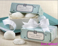 baby shower favors - quot Sea shells shape quot Scented Soap for Wedding favor and gifts or Baby Shower Favors box box