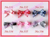 Cheap Hair Bows mini top flower hair cli Best Cotton 1-50piece/lot girl baby hair bows