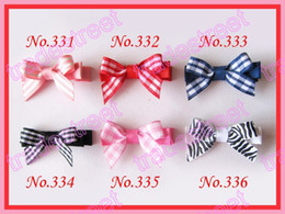 free shipping 500ps 2'' fashion mini top flower hair clips mix color girl baby hair bows