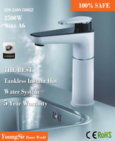 Wholesale Retail The best tankless instant electrical hot water tap faucet patented technology