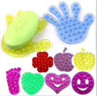 Wholesale Multiple Little Feet Palm Magic Sucker Cup Double sided Suction Cup Affixed Device For Cellphone Soap Dish