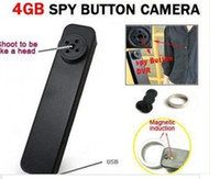 Wholesale Tiny Hidden Spy Button Camera DVR HD P AVI Audio Mic FPS Secret Mini Camcorder Wireless Video Recorder GB MP Hot Sale