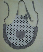 Wholesale Cute Kid Multi Color Polka Kitchen Art Apron years