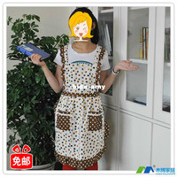 Wholesale fashion apron fashion work wear