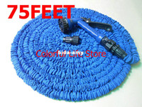 Wholesale FEET Flexible Expandable Garden Irrigation Water Hose USA Standard With Spray Gun