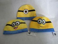 Despicable me gifts for children cartoon character plush hat...