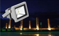 Wholesale FREE DHL High Power W V V Led Floodlight Outdoor Led Flood light Garden Lighing Lamp