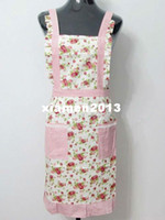 Wholesale Bulk Price cloth apron of flowers picture HighQuality aprons countryside printed aprons many styles