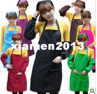 Wholesale Fashion colourful Working Aprons Kitchen aprons Custom Aprons