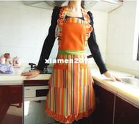 Wholesale fashion Kitchen aprons work wear apron princess canvas apron