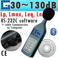 Wholesale SL P_bluetooth Multifunctional Sound Level Meter dB CD Software Bluetooth Noise Level Tester