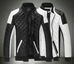 2015 Spring new fashion men's jacket Simple Hit color pu leather jacket Motorcycle jacket slim men's Winter coat mens jackets men's Outwear