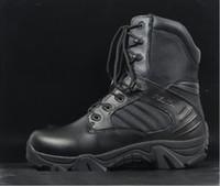 Wholesale Delta desert boots Tan EUR SIZE military boots Black