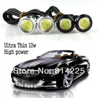 Wholesale 2Pcs W High Power Cars LED DIY Daytime Running Light Reversing Anti photos Eagle eye Lamp mm