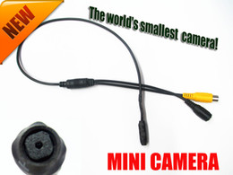 high quality 600TVL micro hd night vision security mini cctv camera pinhole The world's smallest camera!