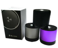 New Mini Hi- Fi Player Bluetooth Wireless Stereo Speakers MP3...