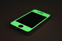 Wholesale Glow in the Dark Full Body Protector Luminous Film Front Back Edge Sticker Wrap Skin for iPhone G S iphone G Free DHL