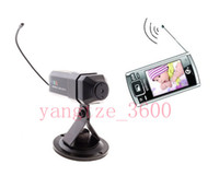Wholesale Wireless UHF TV receiving function cam Mini spy color camera