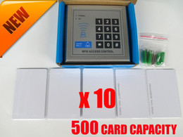 500 Card Capacity RFID Proximity Entry Lock Door Access Control System Digital ACCESS KEYPAD with 10 RFID Card