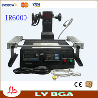 Wholesale LY IR6000V bga rework station infrared bga equipment welding machine with thermocouple also have IR6500 IR9000