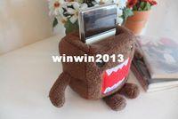 Wholesale Min Order Plush Stuffed Toy Japan DOMO KUN Cellphone Holder Case Mobile Phone Holder Case Car Decoration Holders Pouch Bag
