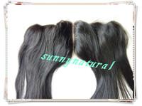 Wholesale fashion Brazilian hair Guarantee wave human hair human Hair lace frontal with baby hair top closure centre part