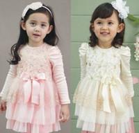 Cheap TuTu children dress Best Spring / Autumn A-Line kids casual dress