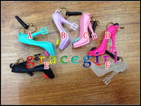 Wholesale Soft pvc High heeled shoes stylish cute Anti dust Dustproof Plug Stopper for Iphone G G S G Ipad Ipod Touch Samsung Blackberry