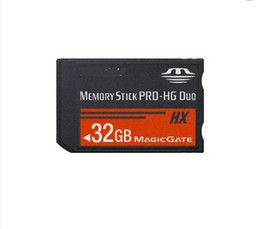 Wholesale New GB Ms Stick Pro HG Duo HX Memory Card Magic Gate For PSP Game PS2 Player Camera Camcorder Phone