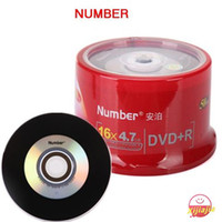 Wholesale HOT Number DVD R Black and Sliver series High quality A G X min discs ND007