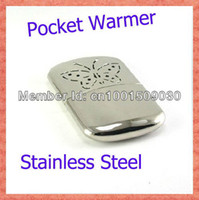 Wholesale Indoor and Outdoor Available Stainless Steel Hand Warmer Portable Home Heater Handy Warmers Pocket Appliances