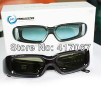 Wholesale 2 Universal D Active Shutter TV Glasses for Panasonic TV TC P50GT30 TC P42GT25