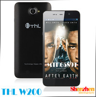 Wholesale THL W200 Android Os Phone MTK6589T Quad Core GHz quot Screen MP Camera cell phone