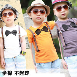 Wholesale Children T Shirts Kids Summer Short Sleeve T Shirt Children Clothing Printed Casual T Shirts Child Clothes Fashion Round Neck Shirts