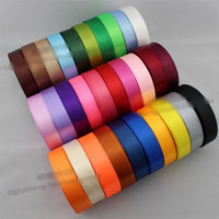 Wholesale piece Yards mm cm Width Satin Ribbon Bow Wedding Party Craft Decoration