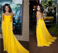 Wholesale Vanessa Hudgens Glamorous Sexy A Line Sweetheart Celebrity Dress Party Evening Gown at SAG Awards