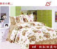 Adult Polyester / Cotton Home Free Shipping Three-Piece Bubble Cotton Bedding Single Bed Quilt Pillow Cases Sheets t0611