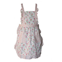 Wholesale 3PCS Fashion Peony Flowers Sleeveless Cotton Kitchen Aprons Cooking Save all650007