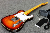 Wholesale NEW ARRIVE High Quality Ameican standard telecaster electric Guitar in stock with hard case
