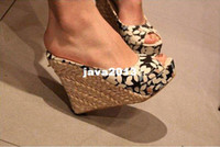 Unisex other PU 2013 free shipping all country ! Bohemian Wedge Women sandals for Lady shoes and Slipper & Black,Red,Brown