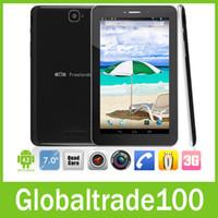 Wholesale Freelander PX2 quot G Dual SIM Card tablet pc Quad core MTK8389 GHz G GB GSM WCDMA Bluetooth GPS Dual Camera x600 Free DHL