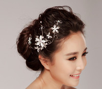 Crown Rhinestone/Crystal  elegant Wedding Bridal Jewelry crystal Rhinestone Tiara headpiece prom headwear floral headdress hair accessories headband jt057
