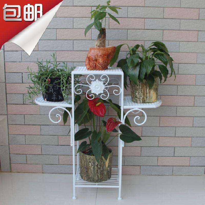 Plant Pot Stand Outdoor Part - 39: Iron Flower Stand Balcony Flower Outdoor Flower Flower Pot Online With  $244.4/Piece On Jiangduu0027s Store | DHgate.com