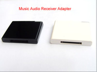 Wholesale Bluetooth Music Audio Receiver Adapter For iPod iPhone Pin Dock Speaker Doc color optional