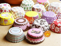 Wholesale Wedding favor baby shower birthday party paper baking cups cupcake liners muffin cases